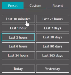 dynatrace-time-periods