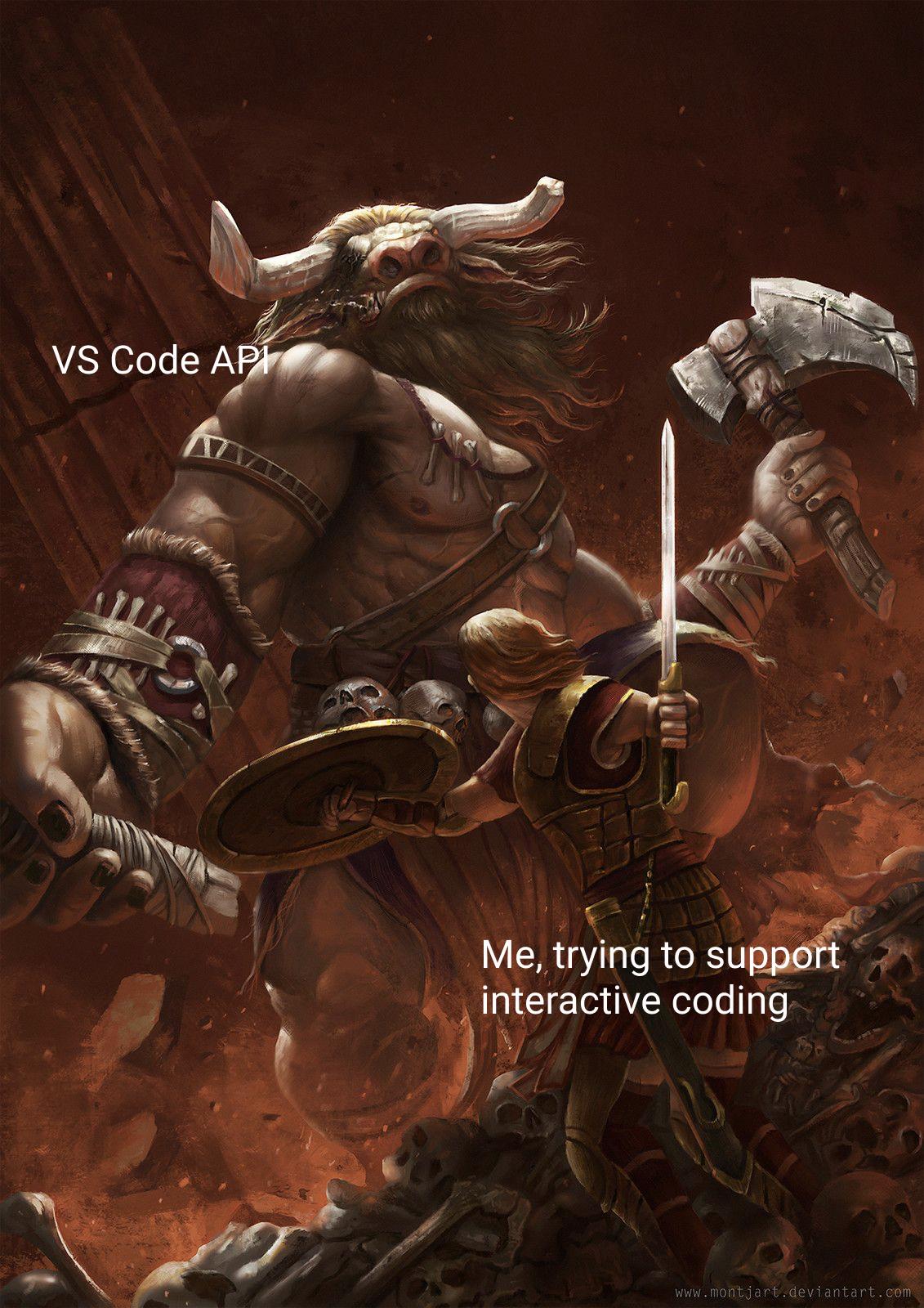 theseus vs code api