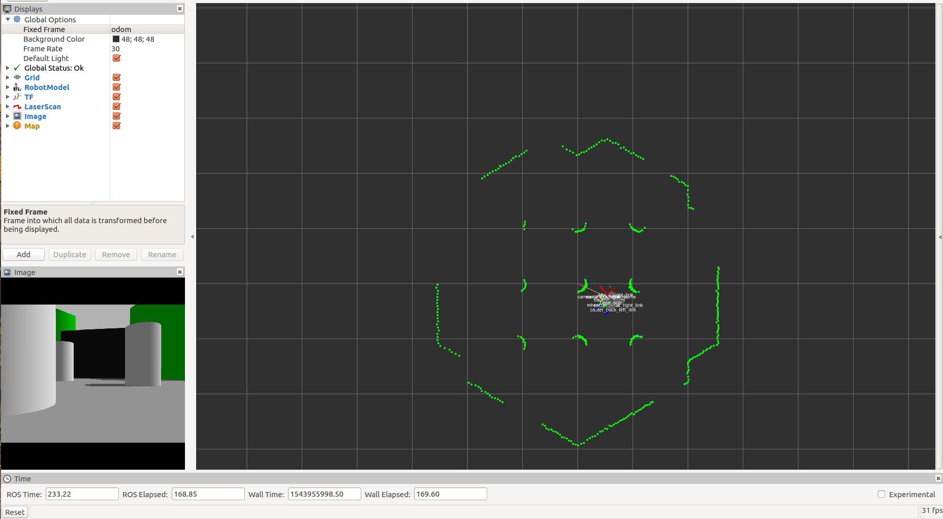 No map received in Rviz using Turtlebot3 in Gazebo · Issue