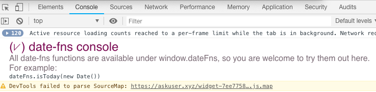 Website uses an out-of-date version of dateFns · Issue #124