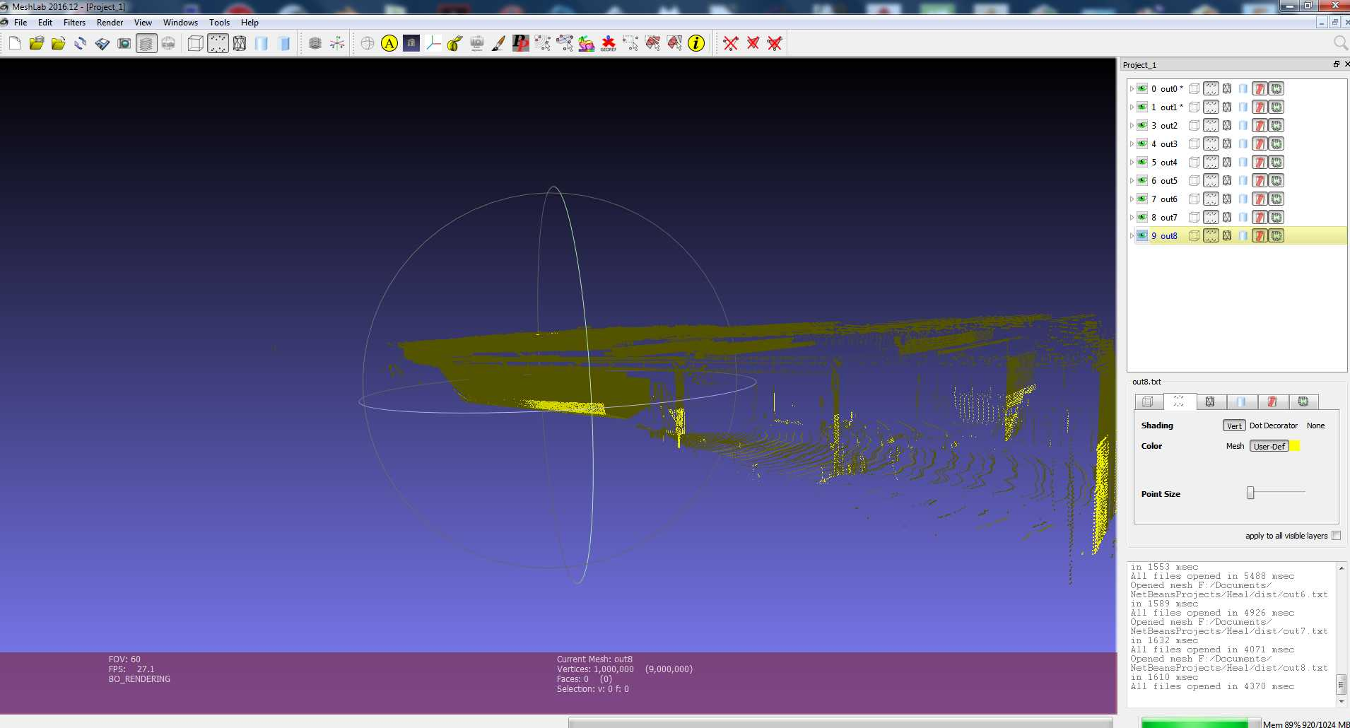 FREEZE loading large X Y Z 3d scanner Point Cloud · Issue #294 · cnr