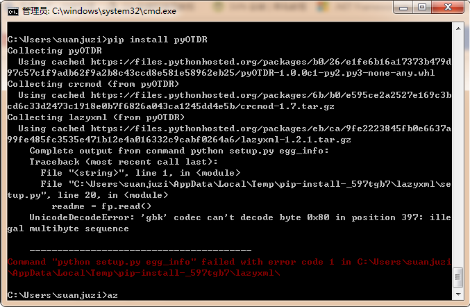 pip install pyOTDR fail · Issue #9 · sid5432/pyOTDR · GitHub