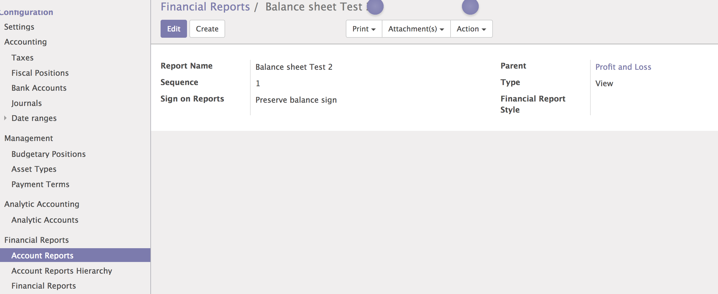 10 0] Error when printing financial reports · Issue #16515