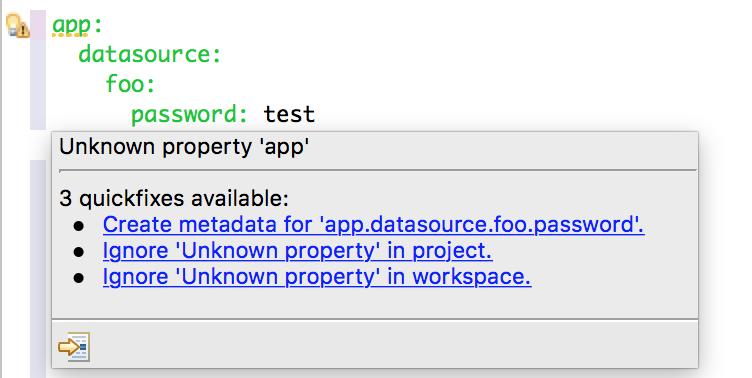 Parameterized Configuration Metadata · Issue #11280 · spring
