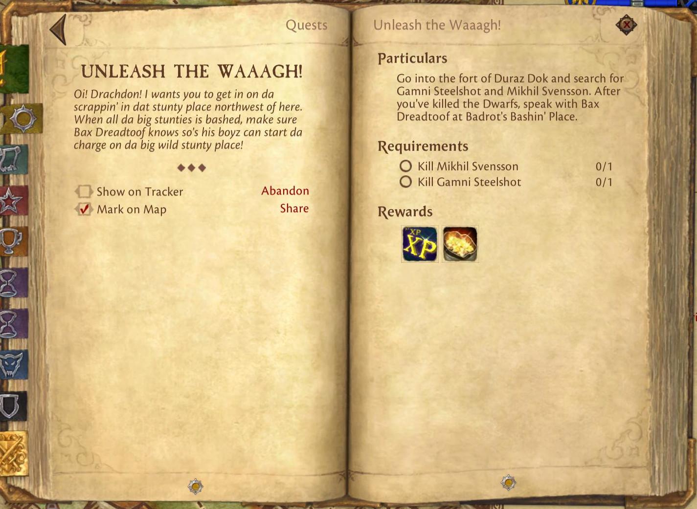unleash the waaagh