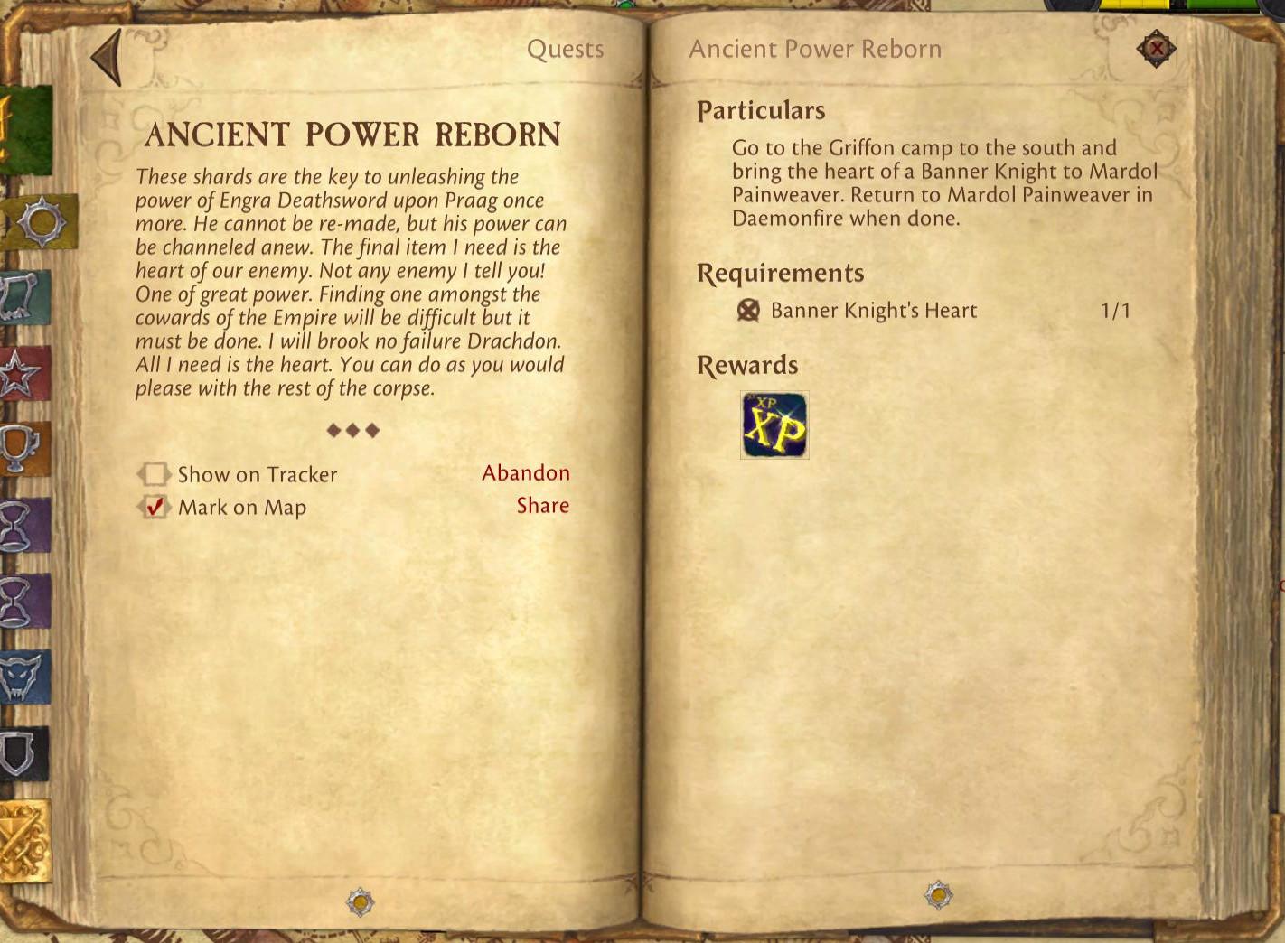 ancient power reborn