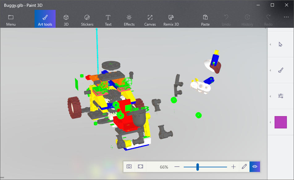 Microsoft has announced support for glTF in Paint 3D · Issue #1037