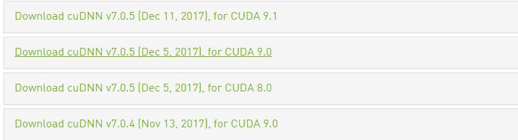 Which CUDA/cuDNN version should I chose for tf-1 50 · Issue