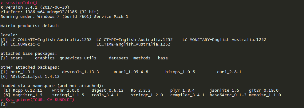 error setting certificate verify locations: · Issue #116 · jeroen