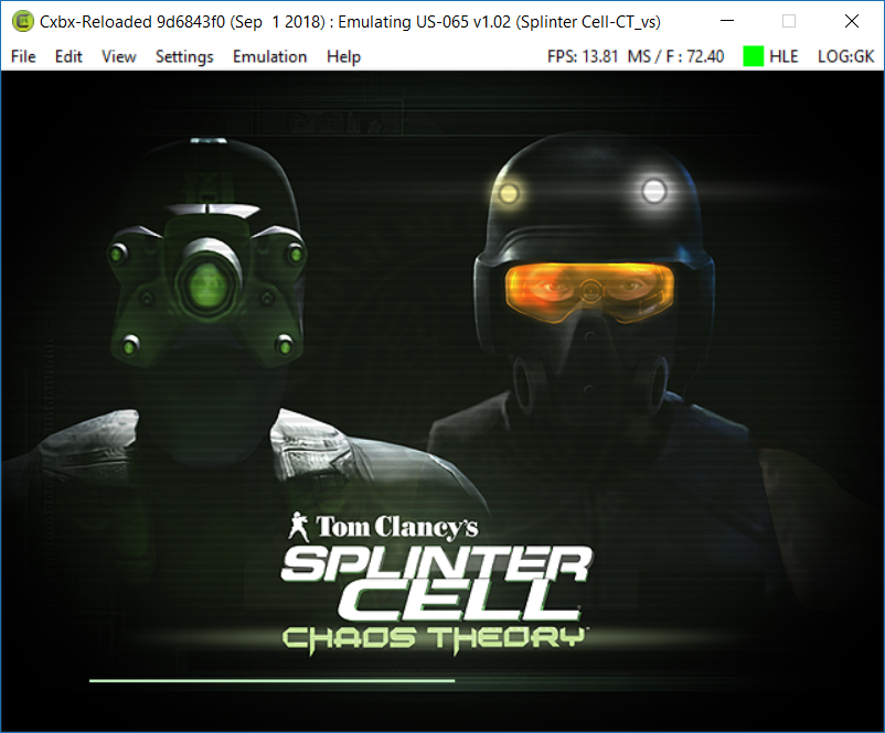 splinter cell chaos theory reloaded