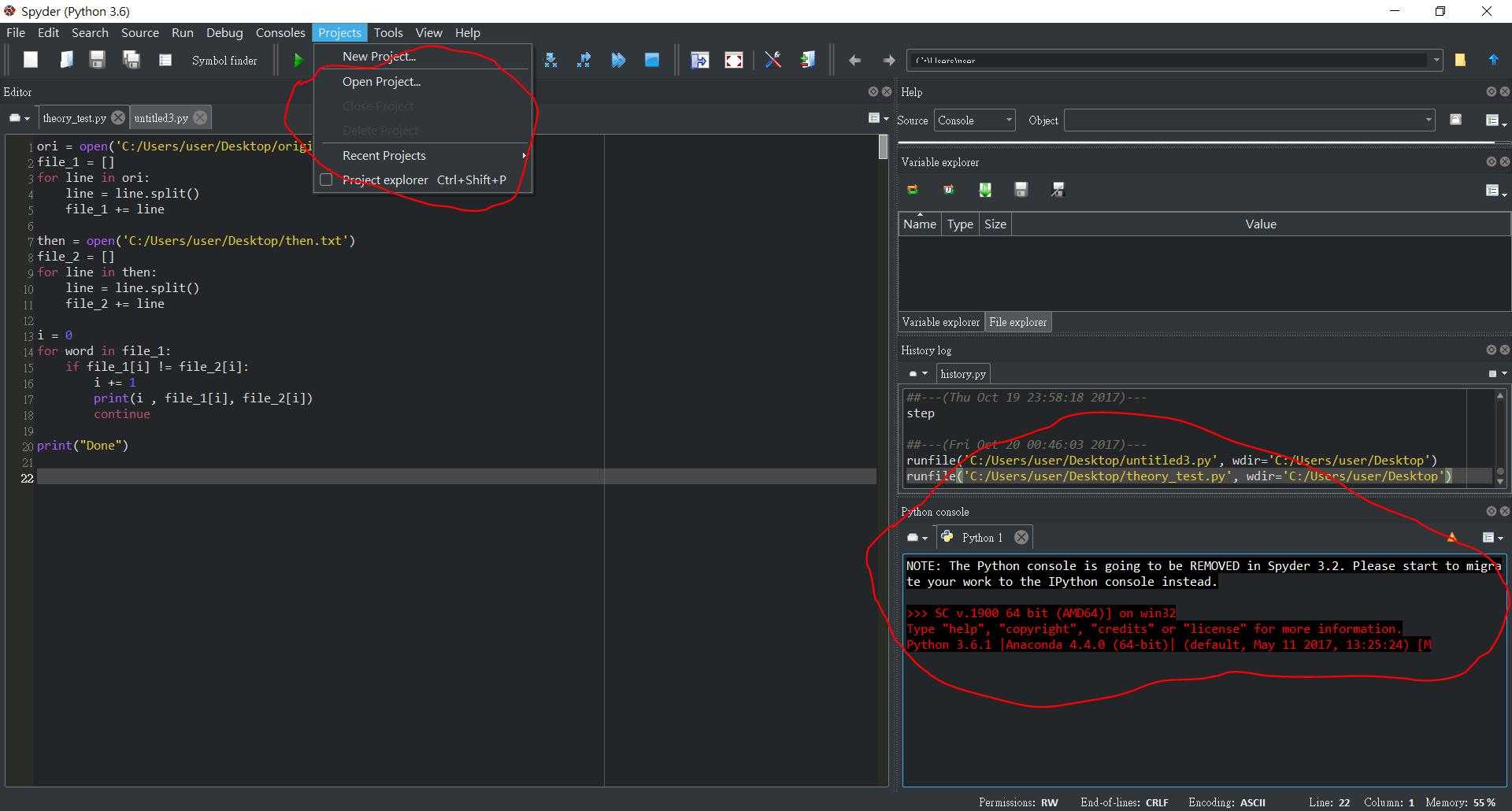 Developers - Add a Spyder dark theme -
