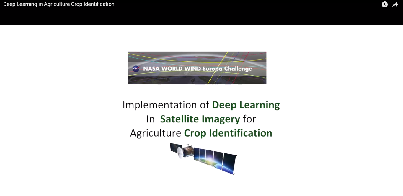 Deep Learning in Agriculture Crop Identification