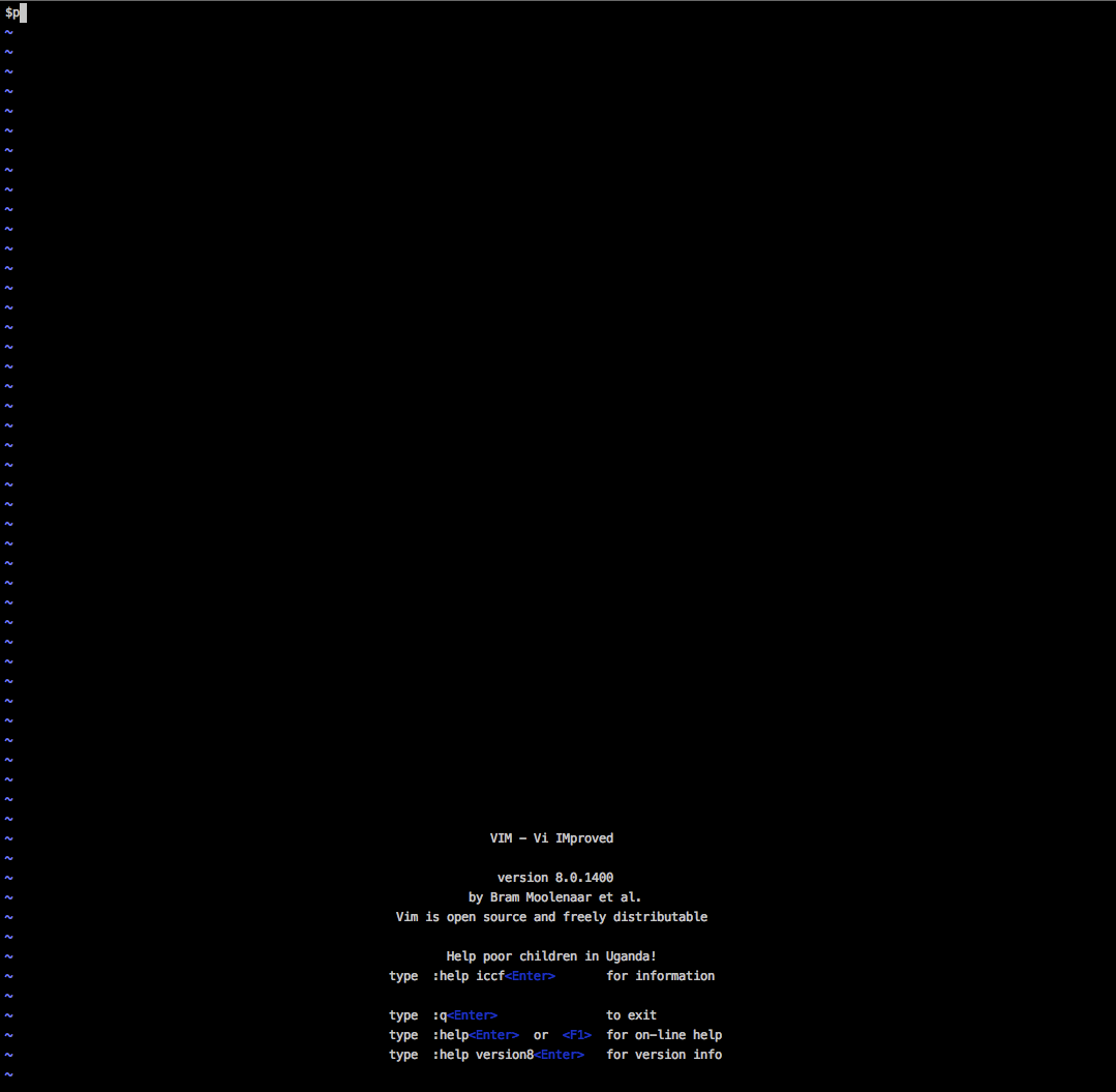 q q' shows at the first line · Issue #2008 · vim/vim · GitHub