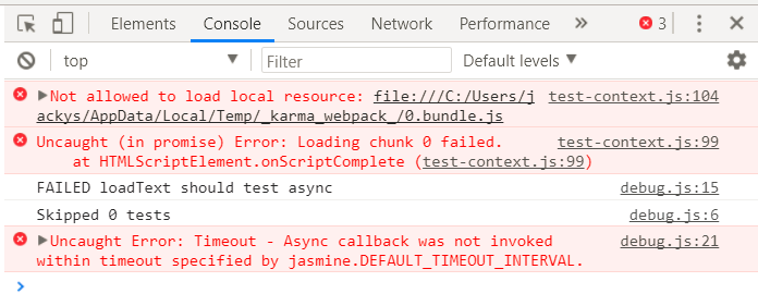 Dynamic import does not work after 2 0 7 · Issue #291