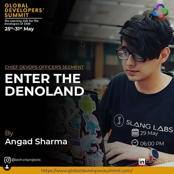 Global Developers' Summit | Enter the Denoland