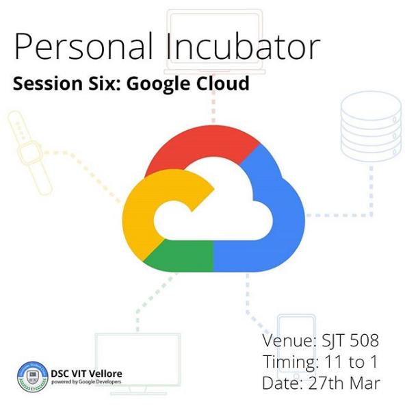 Google Cloud | Personal Incubator Sessions