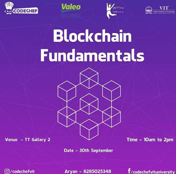 Blockchain Fundamentals | GraVITas VIT
