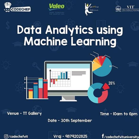 Data Analytics using Machine Learning | GraVITas VIT