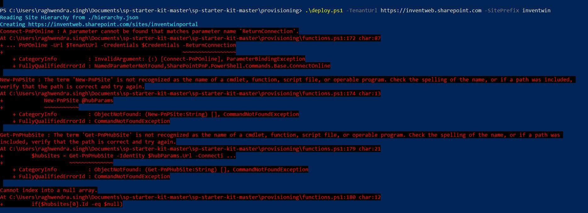 sharepoint intranet starter kit