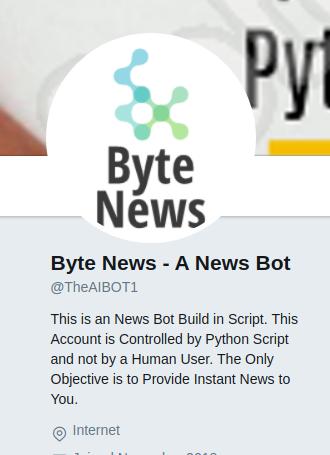 GitHub - harsathAI/Byte-News--A-Twitter-News-bot-from-The-Hindu-API