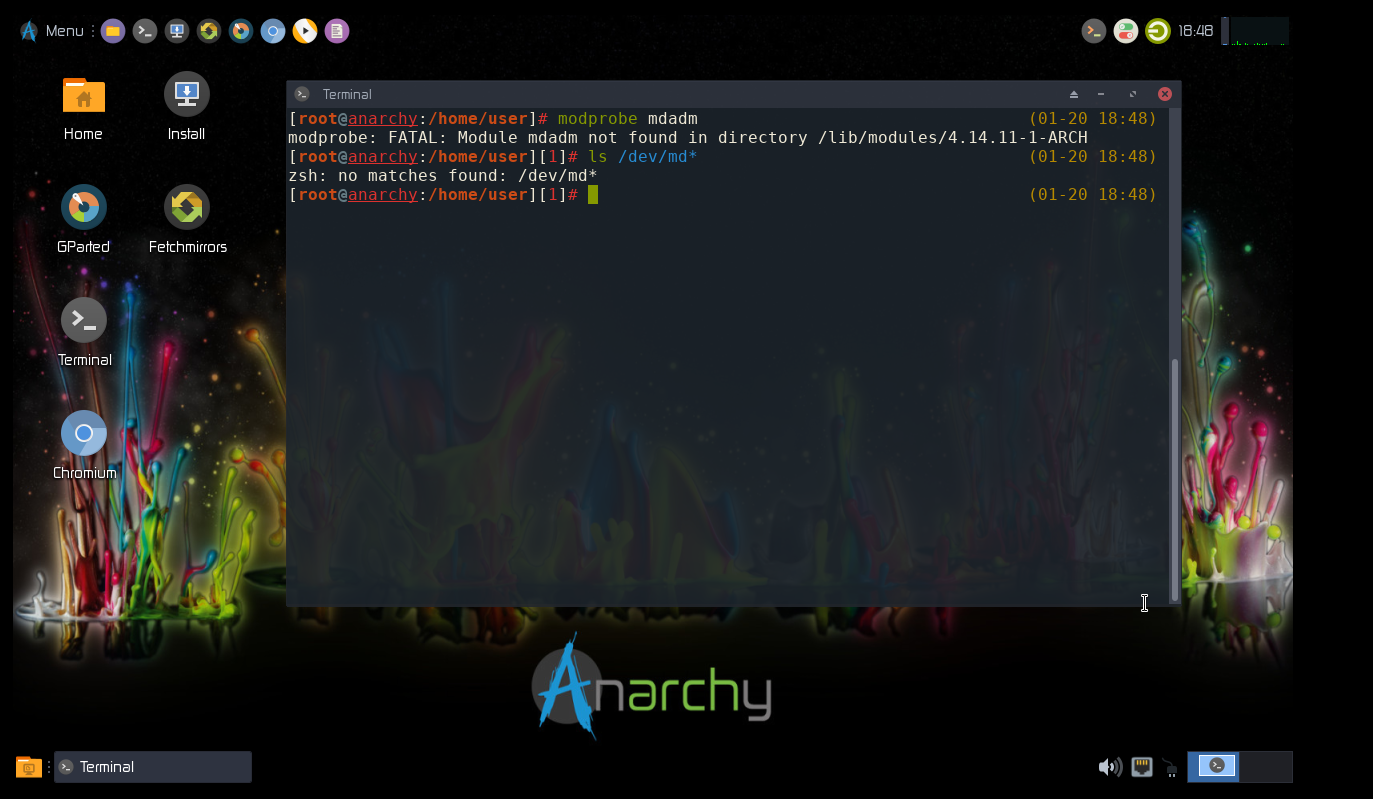 arch-linux-anywhere - Bountysource