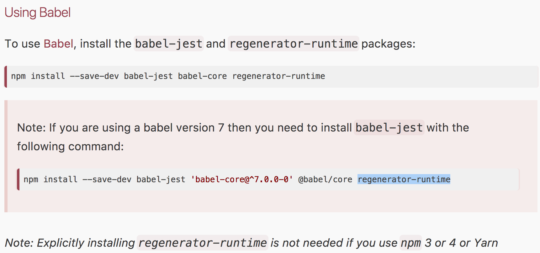 babel-jest plugin & babel 7 incompatibility · Issue #5525 · facebook
