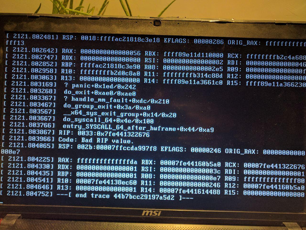 hard shutdown corrupted filesystem · Issue #8 · koverstreet/bcachefs
