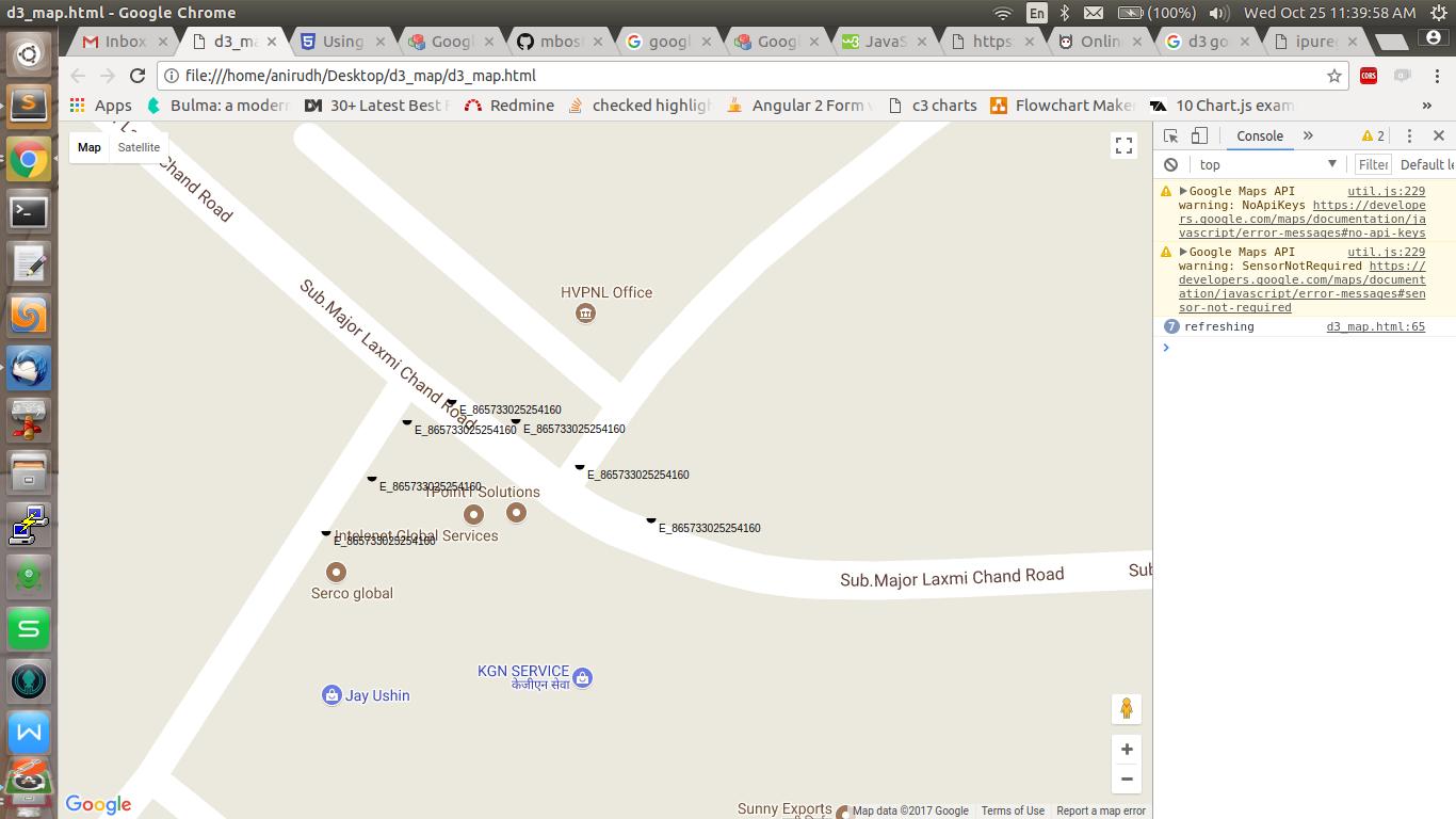 Google Maps + D3 · GitHub