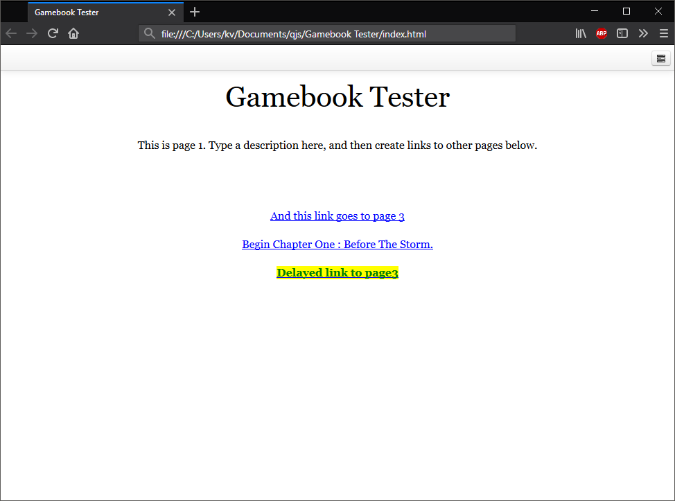 Compiling my gamebook to universal windows platform (uwp) - Quest Forum