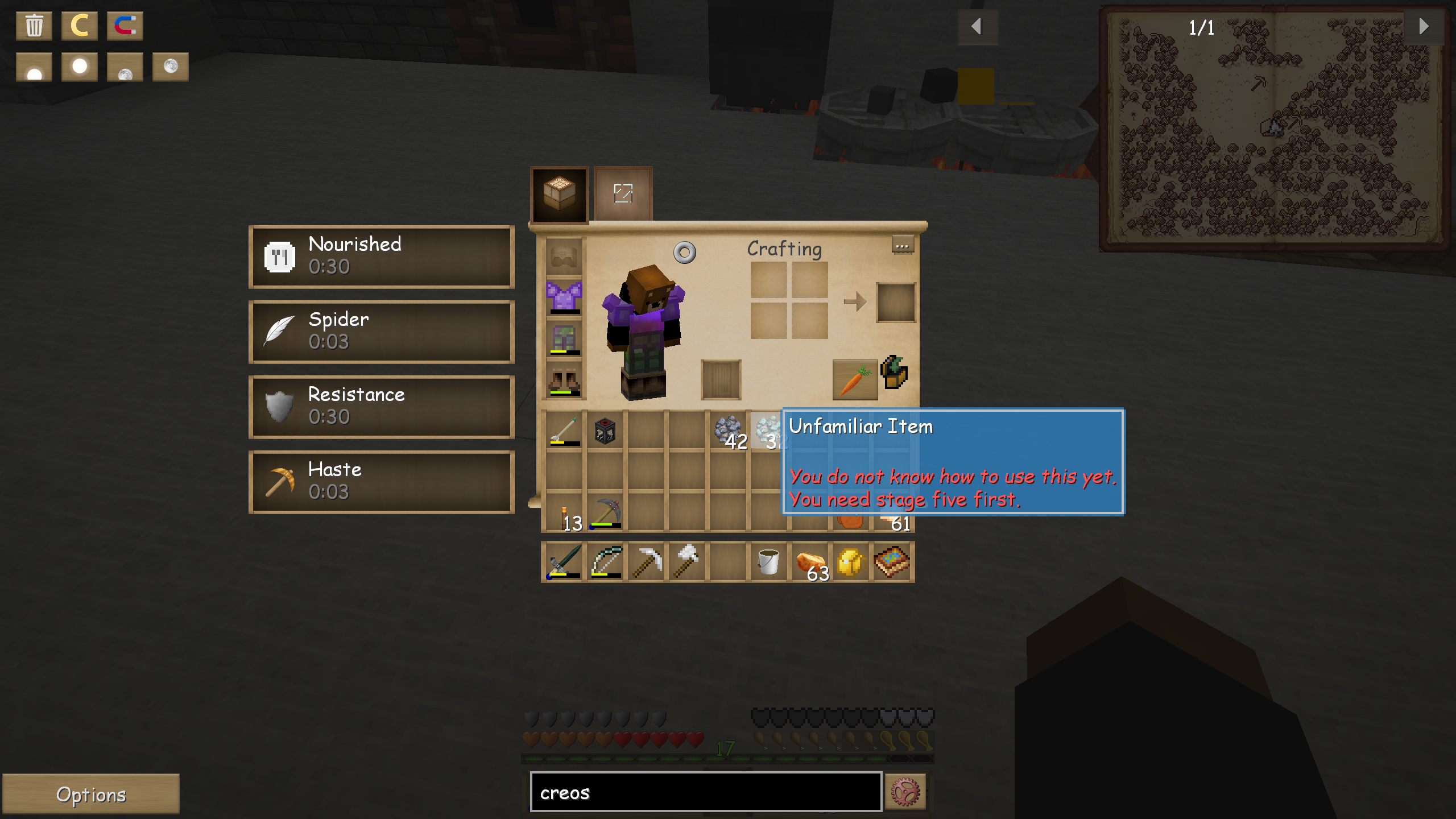 Platinum Ore Minecraft