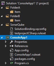 Opening a solution with duplicate solution folder names crashes VS