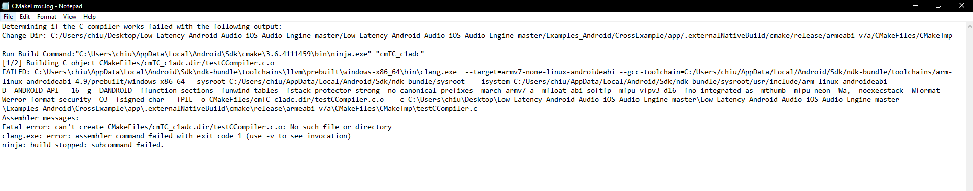 Cant sync gradle due to this error · Issue #406