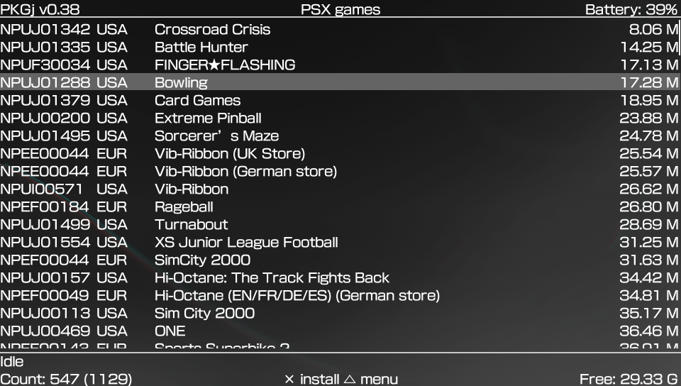 discussion] Why PSX games (installed as EBOOT) placed in psm