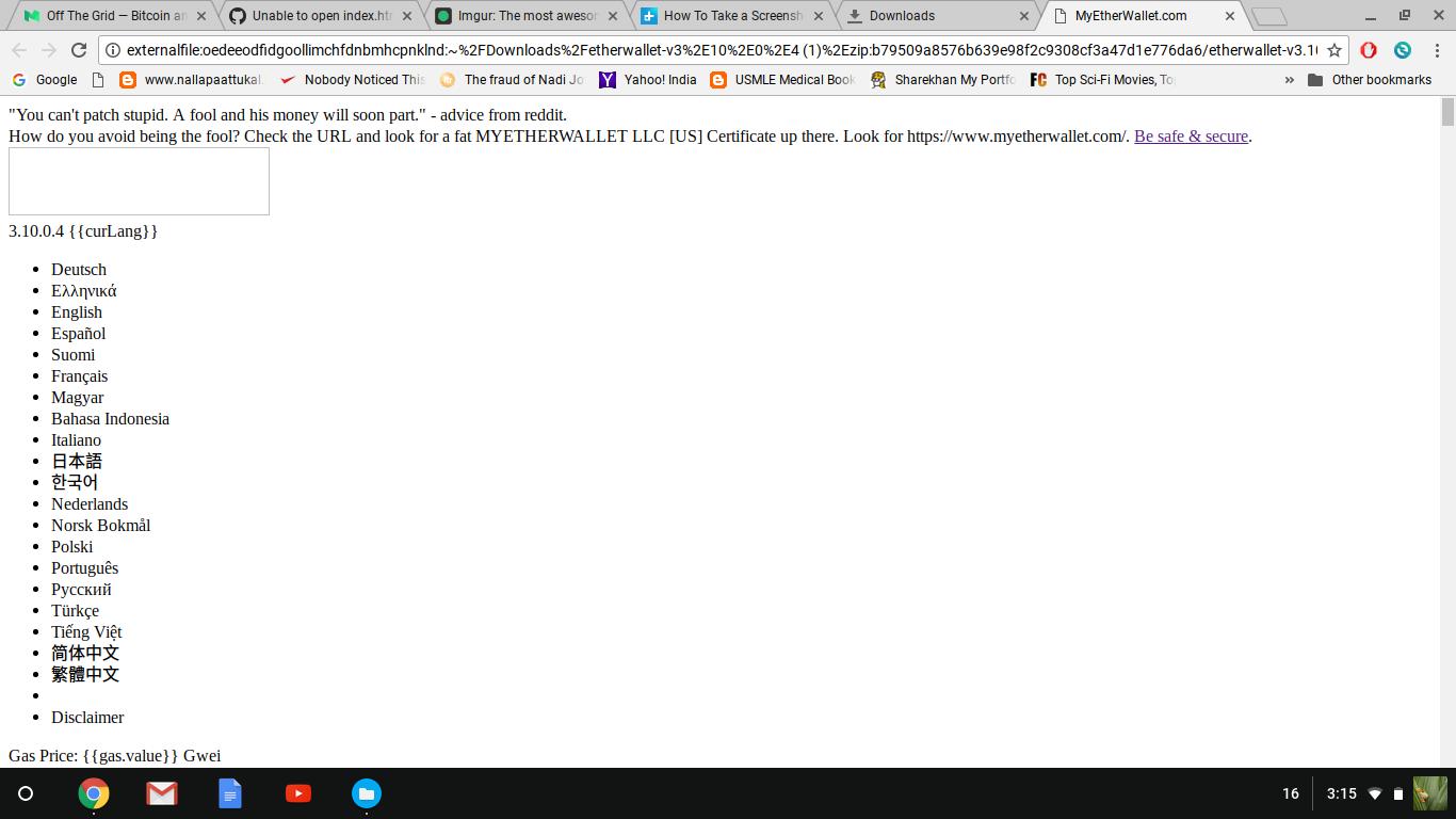 Unable to open index html on chrome · Issue #820 · kvhnuke
