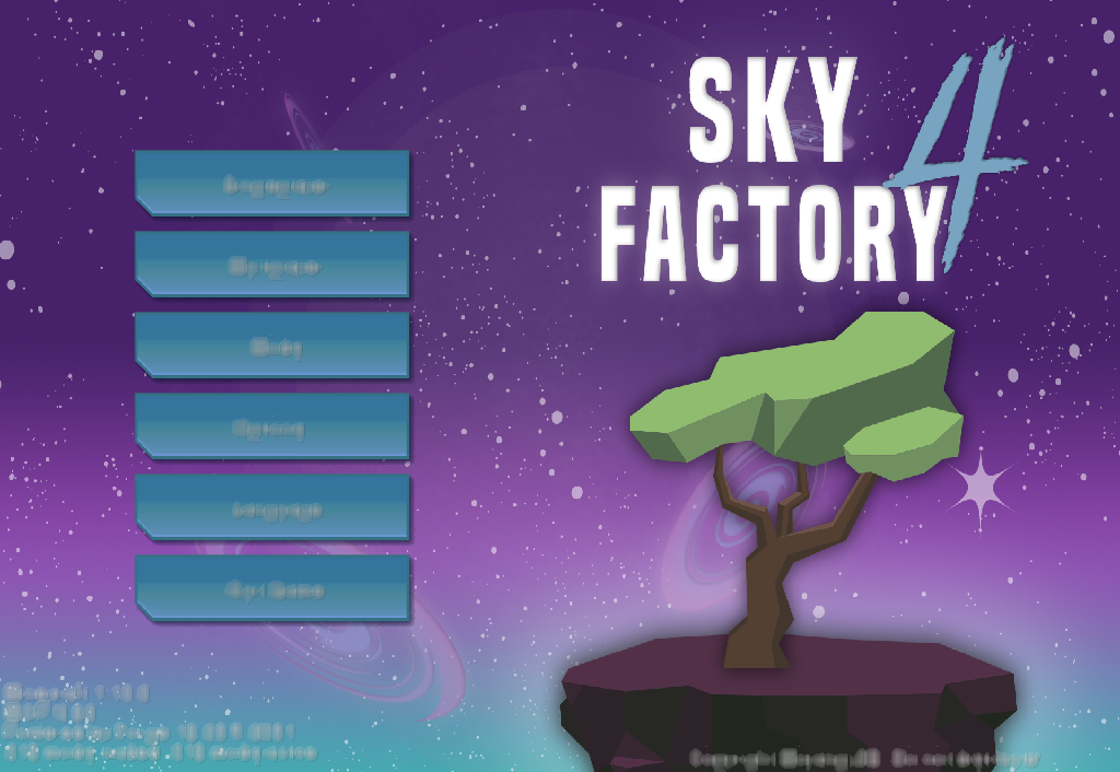Skyfactory 4 Blurryness · Issue #269 · DarkPacks/SkyFactory