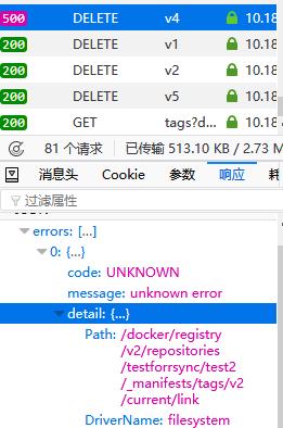 Delete tag failed · Issue #6515 · goharbor/harbor · GitHub