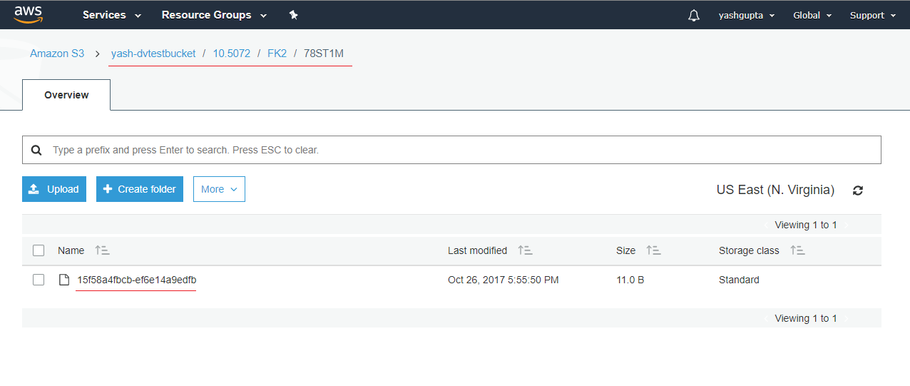 Dataverse configuration to use AWS S3 storage not working