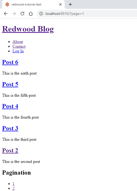 redwoodjs-pagination