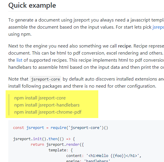 Cannot find module 'puppeteer' · Issue #44 · jsreport