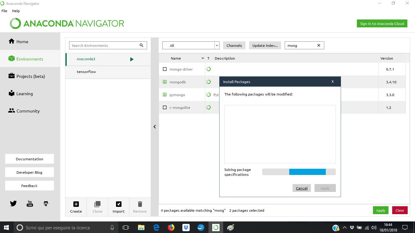 install mongodb mac