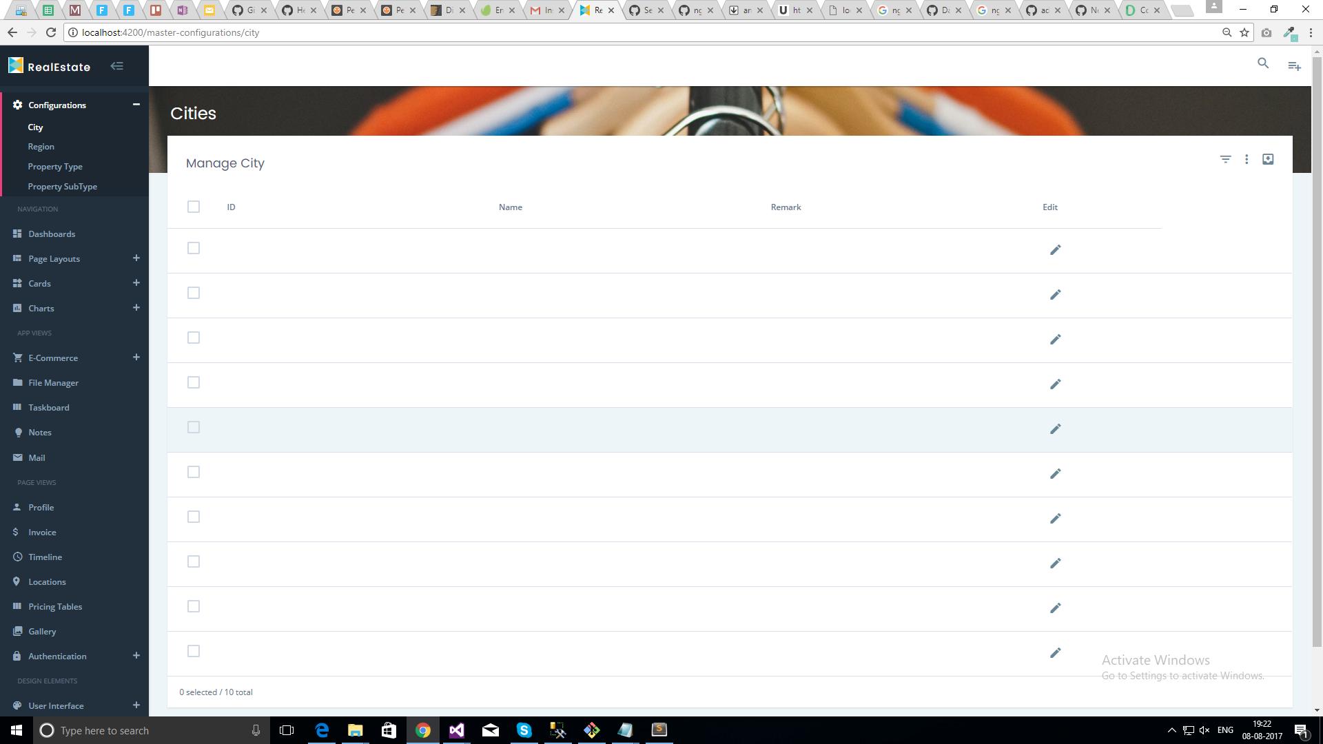 Developers ngx data table display empty row image baditri Images