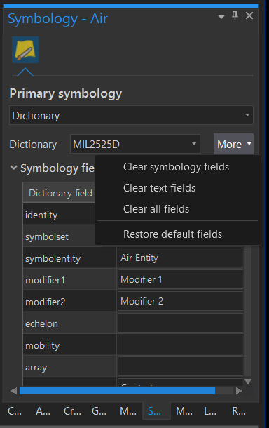 Using the Military Overlay data model does not show symbols in