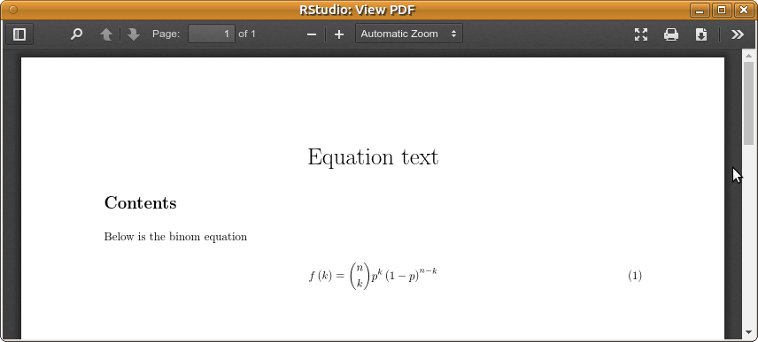 Equation numbering in docx should be improved and shown as