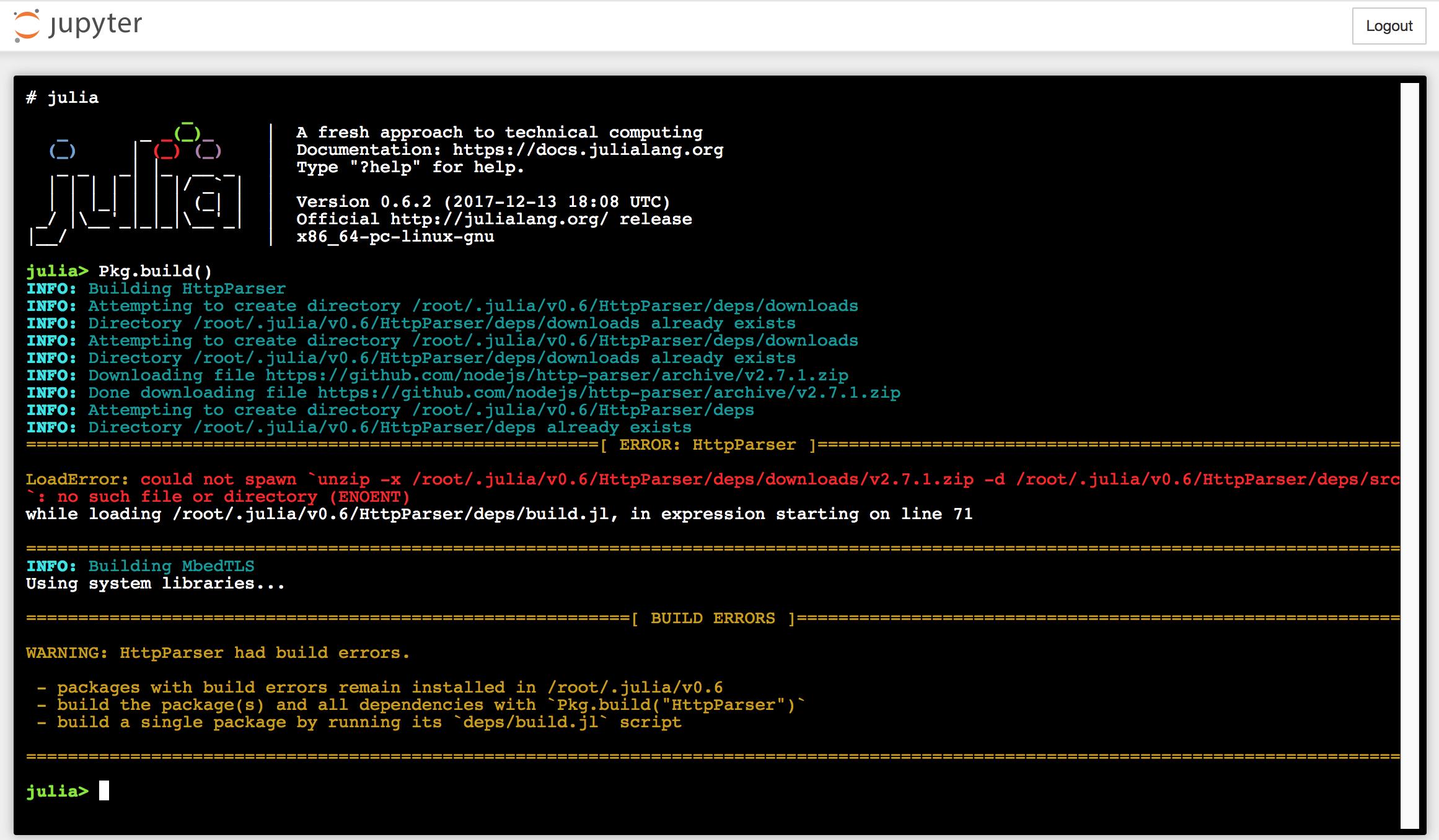 HttpParser Build Errors [LoadError: HttpParser not properly