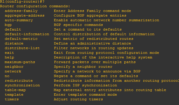 report bug : configuration bgp · Issue #1279 · FRRouting/frr