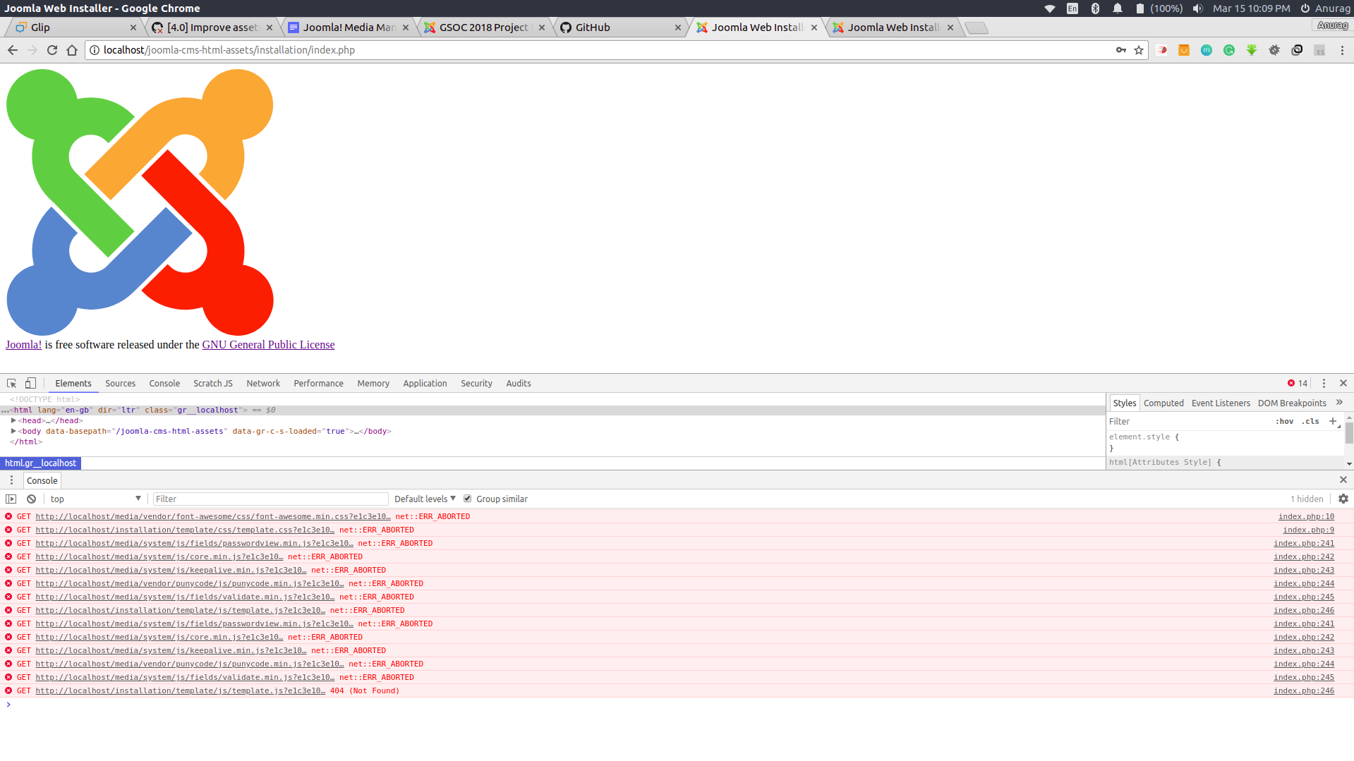 Joomla! Issue Tracker | Joomla! CMS #19744 - [4 0] Improve