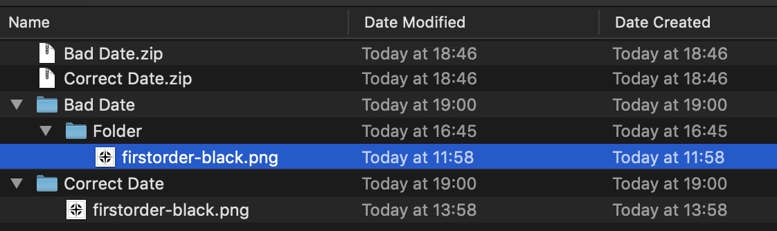 Bad UTC Date