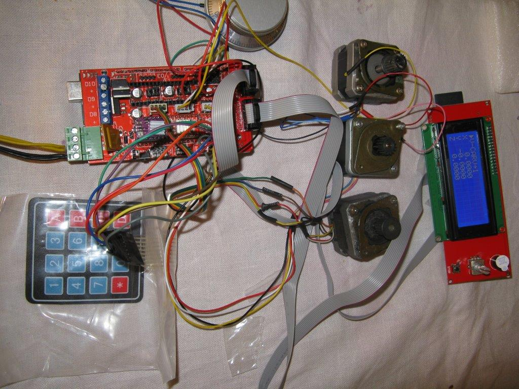 Adding LCD, Keypad, and SD card support · Issue #77 · gnea