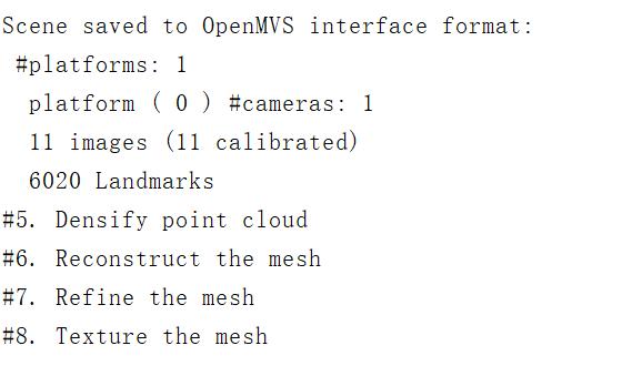 OpenMVG + OpenMVS python pipeline · Issue #619 · openMVG