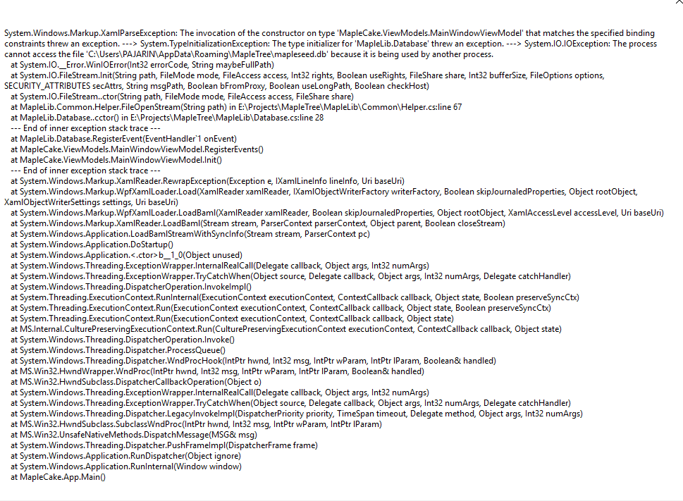 New error maple seed 2 · Issue #116 · Tsume/Maple-Tree · GitHub